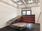Stefan Vollenweiders Installation «Safe Place »in der Kunsthalle St.Gallen. (Bild: Stefan Vollenweider)