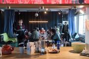 Der offene Mittagstisch im Eichwäldli besteht wohl nur noch bis Ende Jahr. (Bild: Boris Bürgisser (Luzern, 13. Dezember 2018))
