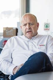 Spar-Schweiz-Chef Rob Philipson will die Rendite zügig steigern. (Bild: Thomas Hary (St.Gallen, 13. Dezember 2018))