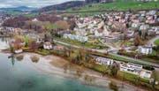 Zur Revitalisierung Neuseeland mit Seeuferweg stimmt Rorschacherberg über einen Kredit von Brutto 4,5 Millionen Franken ab. (Bild: Urs Bucher)