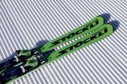 Ski Laser SX mit der Bindung N SP12.