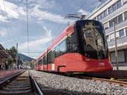 Wegen des Quietschens der Züge in den Kurven gingen bei der Gemeinde schon zahlreiche Meldungen ein. (Bild: Ralph Ribi (6. Oktober 2018))