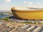 Platz für 80'000 Fussballfans: das geplante Lusail-Stadion in Katar für das Fussball-WM-Finale 2022. (Bild: Fifa)