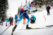 Dario Cologna läuft in Davos auf Rang 15. Bild: Gian Ehrzeller / Keystone