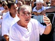 Belästigungsvorwürfe: Der per Haftbefehl gesuchte brasilianische Wunderheiler João Teixeira de Faria hat sich der Justiz gestellt. (Bild: KEYSTONE/AP Agencia Brasil/MARCELO CAMARGO)