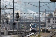 Die SOB testet ab 2019 automatisiert fahrende Züge im praktischen Alltag. (Bild: Gaëtan Bally/KEY)