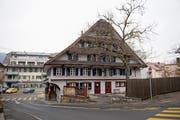 Wechselvolle Geschichte: Das 400-jährige Gasthaus Klösterli. Bild: Corinne Glanzmann (Malters, 14. Dezember 2018)