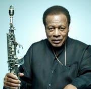 Jazzsaxophonist Wayne Shorter.