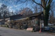 Das Eichwäldli vom Architekten Armin Meili muss dringend stabilisiert und saniert werden. (Foto: Boris Bürgisser (Luzern, 13. Dezember 2018))