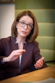 Ständeratskandidatin der St.Galler FDP, Susanne Vincenz-Stauffacher (Bild: Ralph Ribi)