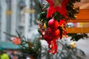 Am diesjährigen Frauenfelder Weihnachtsmarkt. (Bild: Donato Caspari)