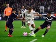 Neymar traf zwar zur 1:0-Führung für PSG in Bordeaux, dennoch musste sich der Leader der Ligue 1 erstmals in dieser Saison mit einem Remis begnügen (Bild: KEYSTONE/EPA/CAROLINE BLUMBERG)