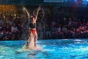 Die Gala-Show des SC Flös war gespickt mit Höhepunkten. (Bild: Heini Schwendener)