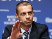 Aleksander Ceferin und die UEFA führen ab 2021 einen neuen Europacup-Wettbewerb ein (Bild: KEYSTONE/SALVATORE DI NOLFI)