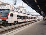 Die SBB kaufen für die Strecke Bern - La Chaux-de-Fonds sieben neue Züge des Typs Flirt von Stadler. Sie werden Mouette (Möwe) genannt. Bild: PD