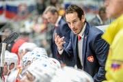 Patrick Fischer coachte die Schweizer Eishockeynationalmannschaft an den diesjährigen Weltmeisterschaften zu Silber. (Andy Mueller/freshfocus (Augsburg, 6. November 2018))