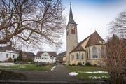 """Die Pfarrkirche """"Mutter vom guten Rat"""" in Berneck. (Bilder: Urs Bucher)"""