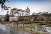 Die Pfarrkirche St. Mauritius in Appenzell.
