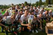 Seit diesem Sommer wieder in der Challenge-League: Der SC Kriens. (Bild: Philipp Schmidli (Emmenbrücke, 26. Mai 2018))