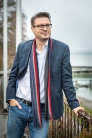 Roger Martin am Hafen. (Andrea Stalder)
