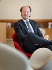 Jos Dijsselhof ist seit Anfang Jahr CEO der SIX. (Bild: Christian Beutler/Keystone)