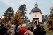 Die «Stille Nacht»-Kapelle im österreichischen Oberndorf. (Bild: Christian Bruna/Keystone)