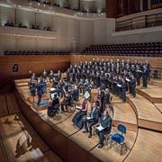 Das Bach Ensemble Luzern bot ein selten gespieltes Werk. (Bild: Pius Amrein, 23. Dezember 2018)