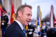 Patrick M. Shanahan wird neuer Verteidigungsminister der USA. (Bild: Erik S. Lesser / EPA, (Arlington, 19. Dezember 2018)