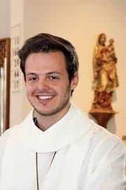 Nico Oberholzer hat an Heiligabend einen Einsatz als Ministrant. (Bild: Andrea Müntener-Zehnder)