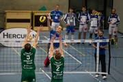Der Luzerner Tim Köpfli versucht hier zu punkten. Bild: Dominik Wunderli (Luzern, 28. Oktober 2018)