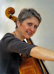 Dreimal in der Kathedrale St.Gallen: Cellistin Bettina Messerschmidt. (Bild: pd)