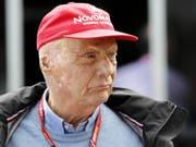 Niki Lauda kämpft sich einmal mehr zurück (Bild: KEYSTONE/EPA AAP/DAVE ACREE)