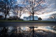Trumps Wohnsitz: Das Weisse Haus. (Bild: Jim Lo Scalzo/EPA (Washington, 22. Dezember 2018))