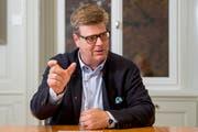 Michael Nonn, Präsident St.Galler Anwaltsverband © Urs Bucher/TAGBLATT