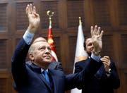 Der Einfluss des türkischen Präsidenten Recep Tayyip Erdogan in Osteuropa wächst. (Bild: Burhan Ozbilici/Keystone (Ankara, 25. Dezember 2018)