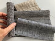 Die Textilien aus Bananengarn haben ähnliche Eigenschaften wie Jute, Hanf oder Leinen. (Bild: Hochschule Luzern)