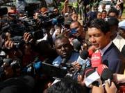 Andry Rajoelina gewinnt die Präsidentschaftswahl in Madagaskar. (Bild: KEYSTONE/AP/THEMBA HADEBE)