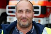 Enzo Termine, bis Ende Jahr noch RTL-Kommandant, wechselt zur Flugplatz-Feuerwehr Altenrhein (Bild: Rudolf Hirtl)