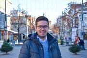 Benjamin Vidas ist Mitgründer der Bildungsplattform Eduwo und ist Leiter Marketing und Kommunikation. (Bild: Miranda Diggelmann)