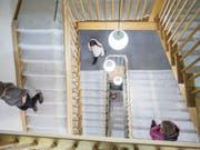 Weil das Crowdfunding glückte, kann nun im Innern des Lichtensteiger Rathauses gearbeitet werden. (Bild: Sascha Erni)