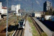 Die Bahnlinie zwischen Buchs und Sargans ist seit 16.15 Uhr unterbrochen. (Archivbild: Ralph Ribi)