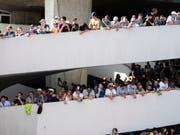 Das Formel-E-Rennen im Sommer in Zürich war einer der Grossanlässe, an welchen die SBB zahlreiche Reisenden transportierte. (Bild: KEYSTONE/ENNIO LEANZA)