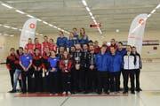 chweizer Cup 2018: Cupsieg für Glarus (Mixed Doubles), Aarau (Frauen) und Bern Zähringer (Herren) Bild: Curling.ch