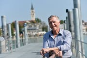 Marcel Trost sucht in Romanshorn seine Jugendliebe. (Bild: Donato Caspari)