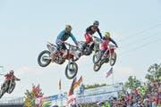 Der Motocross GP wird nicht mehr in der Gemeinde Gachnang stattfinden. (Bild: Donato Caspari)