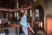 Auch die alte «Löwen»-Bar geht wieder auf - als Pub. (Bild: Nadia Schärli (Ebikon, 17. Dezember 2018))