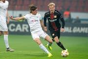 Galt im Nachwuchsfussball eins als «retardiert»: Hekuran Kryeziu (vorne). (Bild: Melanie Duchene/Keystone (Zürich, 8. November 2018))