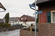 Die Schilder an der Weedstrasse in Heerbrugg (Bild) und in Widnau scheinen speziell geschützt zu werden. (Bild: Chris Eggenberger)