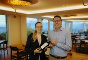 Manuela Eigenmann (links) wird neue Direktorin Hotel Sonnenberg Kriens, Ron Prêtre (rechts) ist Leiter des Sozialprojekts «The Büez». (Bild: PD)