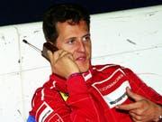 Ein Bild aus früheren Tagen: Der Deutsche Michael Schumacher ist der erfolgreichste Formel-1-Fahrer der Geschichte (Bild: KEYSTONE/AP/JACQUES BRINON)